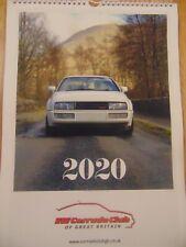 Corrado Club of Great Britain 2020 Calendar