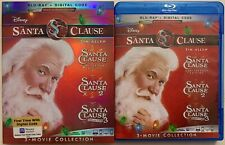 DISNEY THE SANTA CLAUSE 3 MOVIE COLLECTION BLU RAY 3 DISC SET + SLIPCOVER SLEEVE