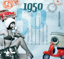 1950 The Classic Years 20 Track CD Greetings Card