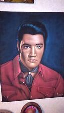 Big Super Nice Elvis Presley Velvet Painting