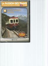 DVD -  LA PASSION DES TRAINS N°46 - PETITS TRAINS ALPINS / TRAMWAY MONT-BLANC