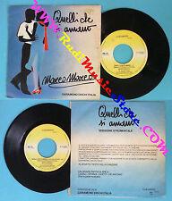 LP 45 7'' MARCO MARCO Quelli che si amano 1986 italy GARAMOND MM100 no cd mc*dvd