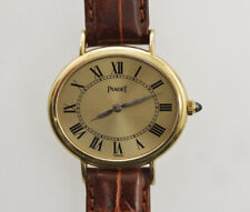 Piaget lady 18k gold 1980 watch manual mechanical wind well working exc++++