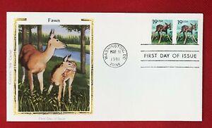 ZAYIX -1991 US FDC Colorano #2479 - Wildlife Fawn