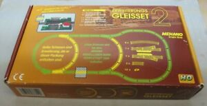 MEHANO Train Line Extensions Track Set 2 IN Boxed