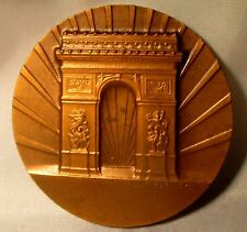 1961 France Cote D'azur Asta American Society of Travel Bronze Medal 42 mm/ N136
