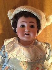 Antique German Bisque Doll Marked 'K&K 39 Made in Germany' on upper back 1915ish