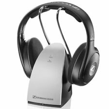Sennheiser RS 120 Wireless TV Listening System RF - Black- w/Charging dock