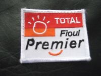 TOTAL FIOUL PREMIER TOTAL OIL FIRST FRENCH ENERGY EMBROIDERED SEW ON ONLY PATCH