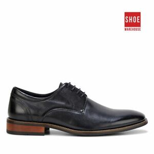 Hush Puppies WHALE Black Mens Lace-up Dress/Formal Leather Shoes