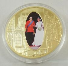 WILLIAM & KATE 2011 1 Dollari Cook ISLAND Matrimonio Reale Fotografica Coin #1