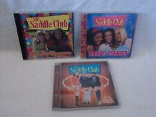 Lot Of 3 The Saddle Club CD Fun For Everyone-Friends Forever-On Top Of The World