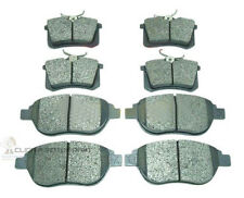 PEUGEOT 307,2.0,2.0 HDI MOST MODELS FRONT AND REAR BRAKE DISC PADS NEW SET