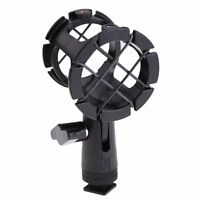 Camera Shock Mount Suspension Holder With Hot shoe For Microphone Mic camera tri