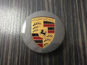 New Genuine 1 Porsche Cayenne Gunmetal Coloured Crest 9P1601149A0C6