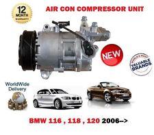 FOR BMW 116 118 120 E81 E87 E88 E82 2005 > NEW AIR CON CONDITIONING COMPRESSOR