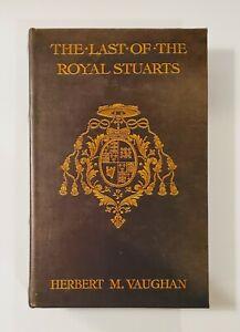 The Last Of The Royal Stuarts Decoy Secret Storage Stash Box Faux Leather Book