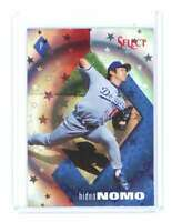 1998 Pinnacle Select Bankruptcy Test #238 HIDEO NOMO los angeles dodgers