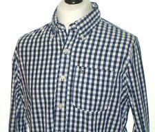 Abercrombie & Fitch Camiseta Para hombre Casual Calce Musculosa X Grande Mangas Largas Botón Superior