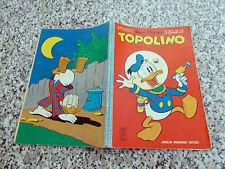 TOPOLINO LIBRETTO N.408 ORIGINALE 1963 MONDADORI DISNEY MB/OTTIMO CON BOLLINO