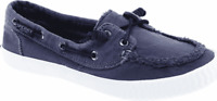 Women's Sperry Top-Sider Sayel Away Boat Shoe Navy Washed Canvas