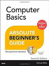 Computer Basics Absolute Beginners Guide, Windows 8.1 Edition (Absolute Beginner