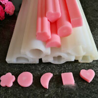Hand Soap Mold Silicone Tube Column Mould for Homemade Craft Soap Mould Tool UQ