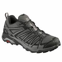 Salomon Mens X Ultra 3 Prime Walking Shoes Hiking Footwear Lace Up Fastening