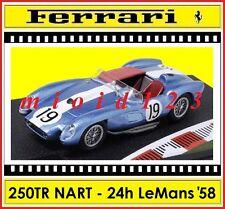 1/43 - Ferrari 250 TR NART - 24h Le Mans 1958 - #19 Martin | Tavano - Die-cast