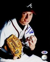 Tom Glavine Signed Psa/dna 8x10 Photo Autograph Authentic