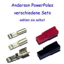 Anderson PowerPoles, versch. Mengen und Stromstärken, Funk, Pedelec, Solar