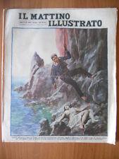 MATTINO ILLUSTRATO 26/1930 Una ragazza salvata sulla scogliera di Capri