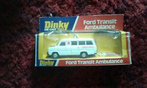 Dinky Nr 274 Ford Transit Ambulance