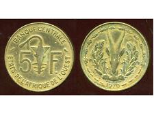 ETATS DE L'AFRIQUE DE L'OUEST  5 francs 1970  ( 1 )  ( bis )
