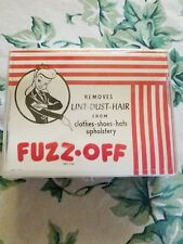 Vintage ~Fuzz Off~ Lint Remover (MIB Tex Avery Style Pin Up Girl Graphics)