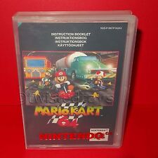 VINTAGE 1997 NINTENDO 64 N64 MARIO KART 64 CARTRIDGE VIDEO GAME PAL + CASE