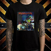MARILLION Script For A Jester's Rock Band Men's Black T-Shirt Size S to 3XL