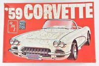 AMT '59 Corvette Street Rods Original Model Kit Sealed Inside 1:25 Scale T393