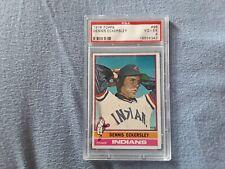Dennis Eckersley 1976 Topps #98 Rookie Card - PSA 4 - MLB
