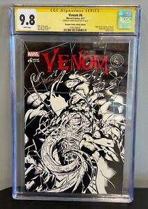 Venom #6 CBCS 9.8 Scorpion Comics Variant 2017 Signature Series Mark Bagley