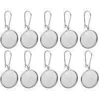 10 Ringrohlinge für 12mm Cabochons Ringe Rohlinge