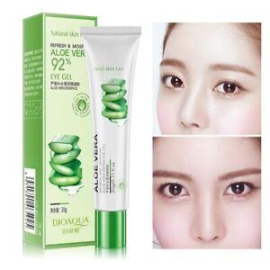 Aloe Vera Eye Cream Gel Natural Moisturizing Anti-aging Wrinkle Snail Cream