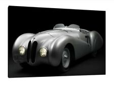 1937 BMW 328 Mille Miglia - 30x20 Inch Canvas Art - M1 Framed Picture Print