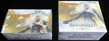 AVACYN RESTORED booster box + Fat Pack Magic the Gathering MTG CAVERN OF SOULS *
