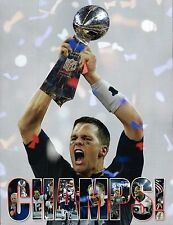 New England Patriots Super bowl LI Champions Commemorative Book Brady 192 Pages
