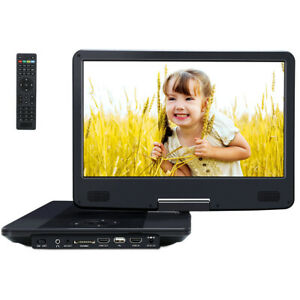 "14"" HD 1080p Portable Blu-ray DVD CD Player HDMI USB/SD MKV MP4 Dolby Battery US"