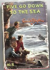 FIVE GO DOWN TO THE SEA   -    BY ENID BLYTON,     1962