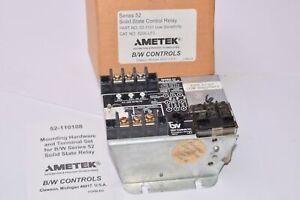 Ametek Series 52 Solid State Control Relay Low-Sensitivity