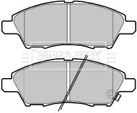Borg & Beck Disc Brake Pad Set Pads BBP2390 - GENUINE - 5 YEAR WARRANTY