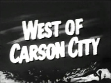 WEST OF CARSON CITY (1940) DVD JOHNNY MACK BROWN, BOB BAKER